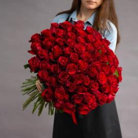 101 красная роза (Эквадор)
