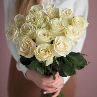 15 белых роз (Эквадор)