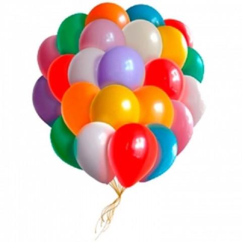 25 шариков микс