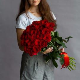35 красных роз (Эквадор)
