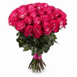 35 розовых роз (Эквадор)