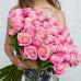 51 розовая роза (Эквадор)