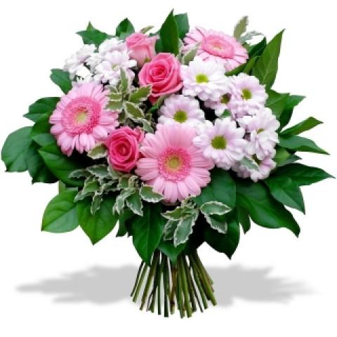 Букет оттенок розового