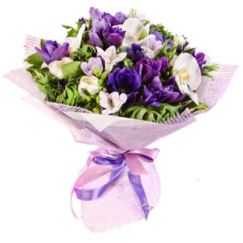 Букет Дип пурпур