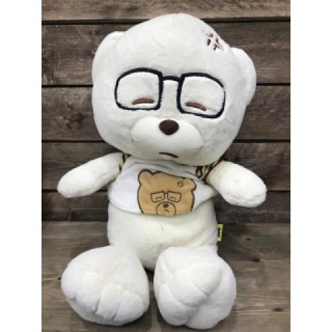 Игрушка медведь в очках