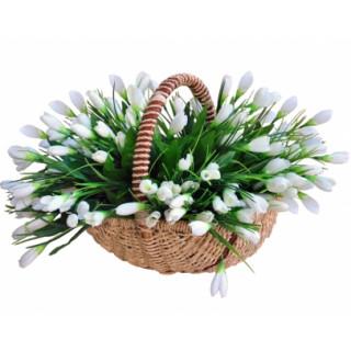Корзина весна пришла