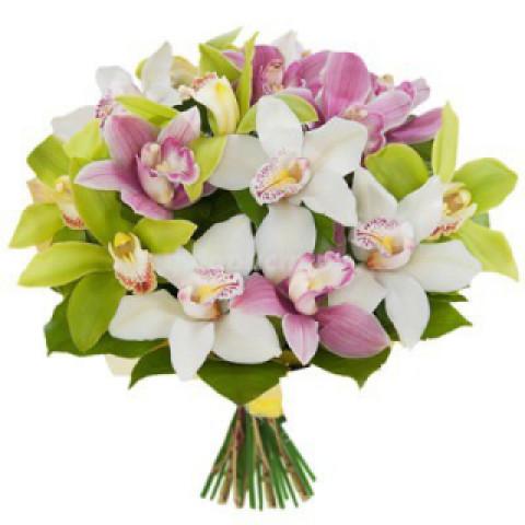 Букет Орхидеи микс