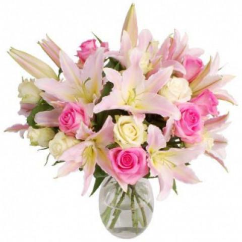 Букет Розовая глазурь
