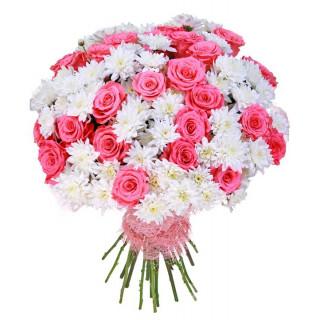 Букет Розовая ваниль