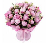 Букет из пионов - Розовый пух