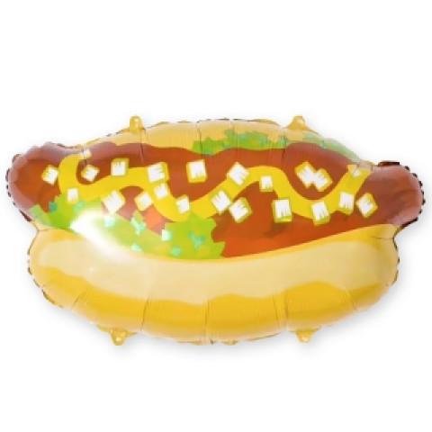 Шар фольгированный хот-дог