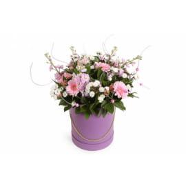 Шляпная коробка цветочная лавка