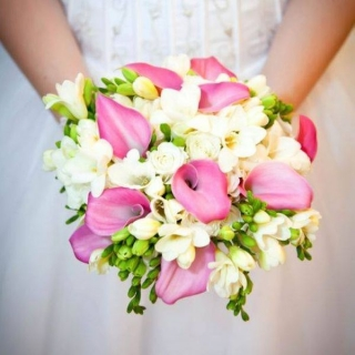 Составной свадебный букет