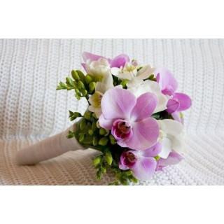 Свадебный букет фаленопсис