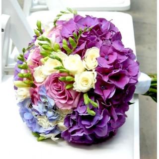 Свадебный букет кольцо