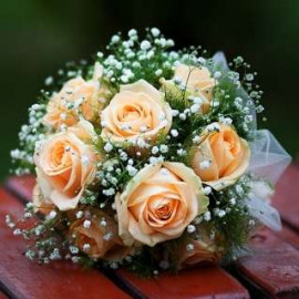 Свадебный букет секрет