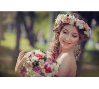 Свадебный венок 14