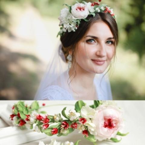 Свадебный венок 23