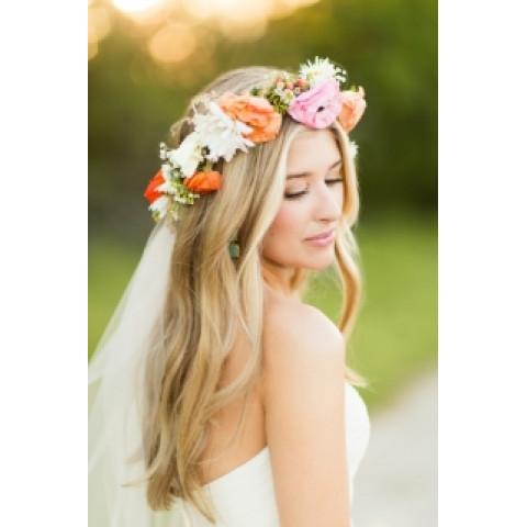Свадебный венок 26