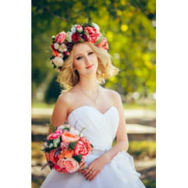 Свадебный венок 28
