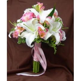 Весенний свадебный букет