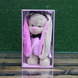 Зайка Лин в розово-черном платье